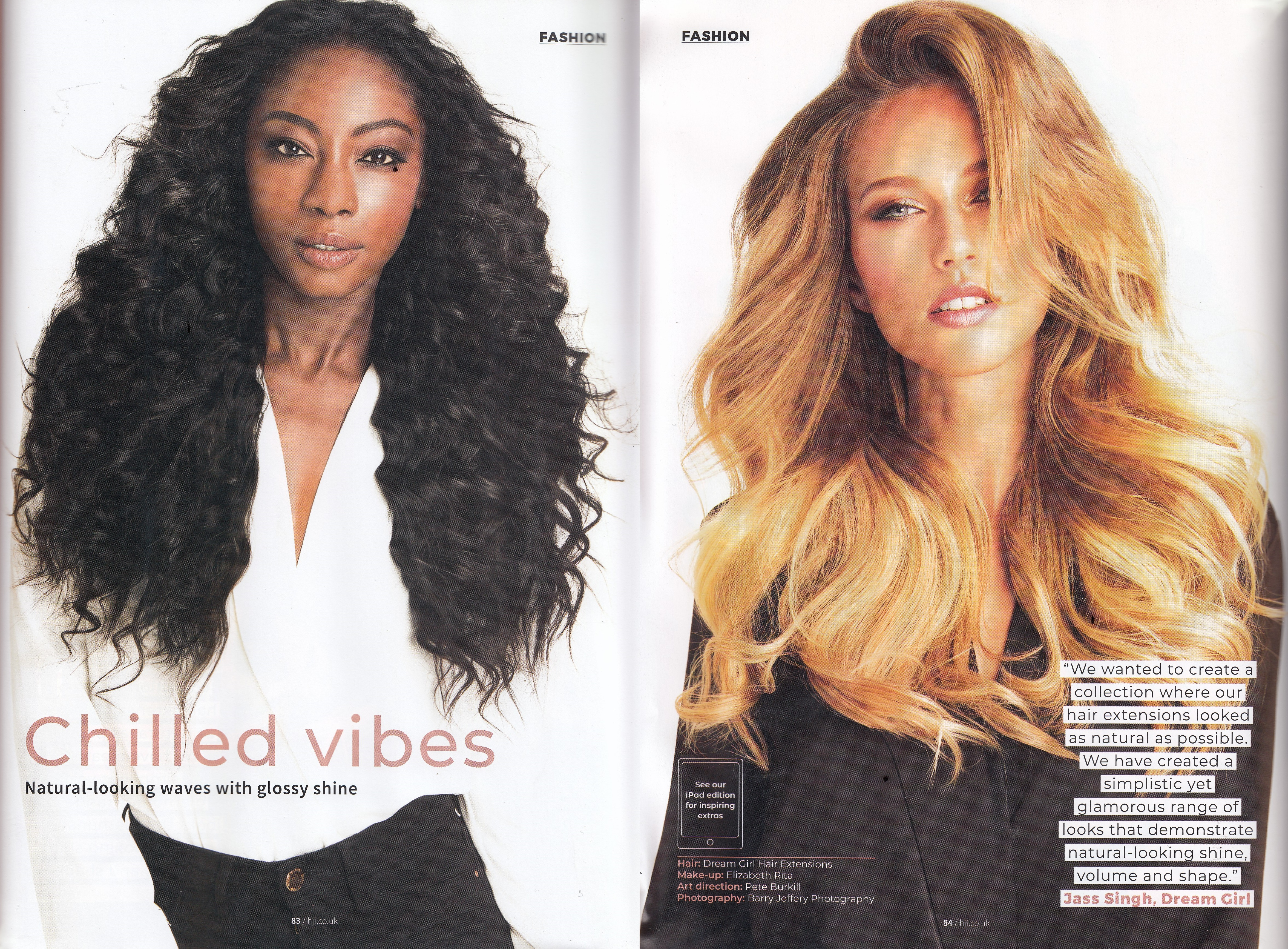 Hairdressers Journal Dream Girl Hair Extensions