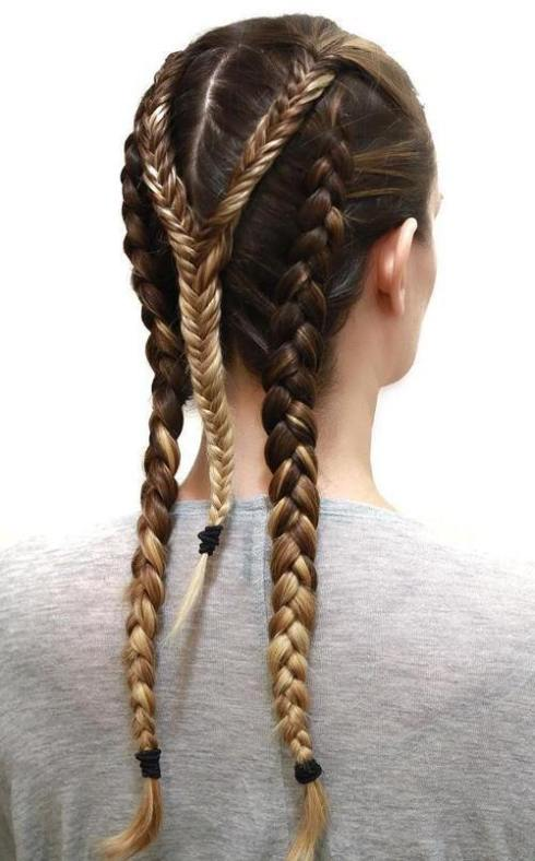 3-triple-braid-sporty-hairstyle